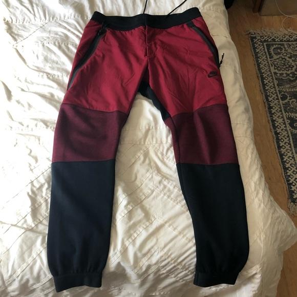nike tech colour block pants